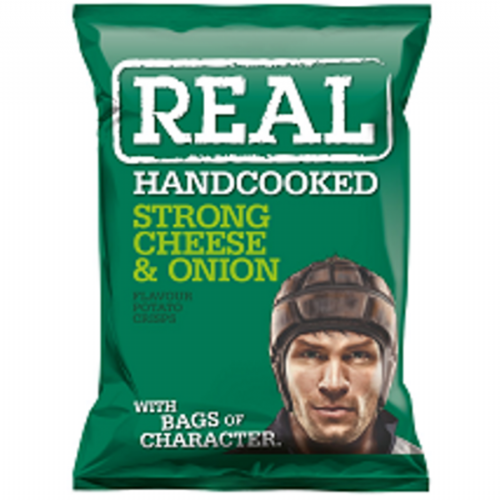 REAL STRONG CHEESE & ONION 35g